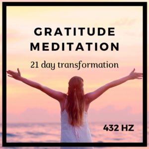 gratitude meditation affirmations