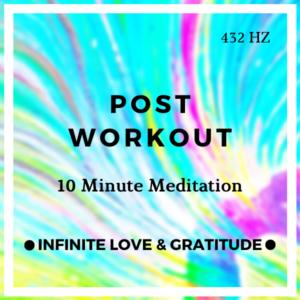 10 Minute Meditation Post Workout