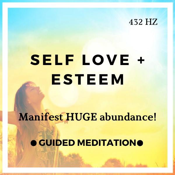 Self Love Guided Meditation (Attract Abundance & Self Esteem)