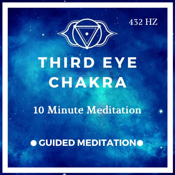10 Minute Third Eye Chakra Meditation